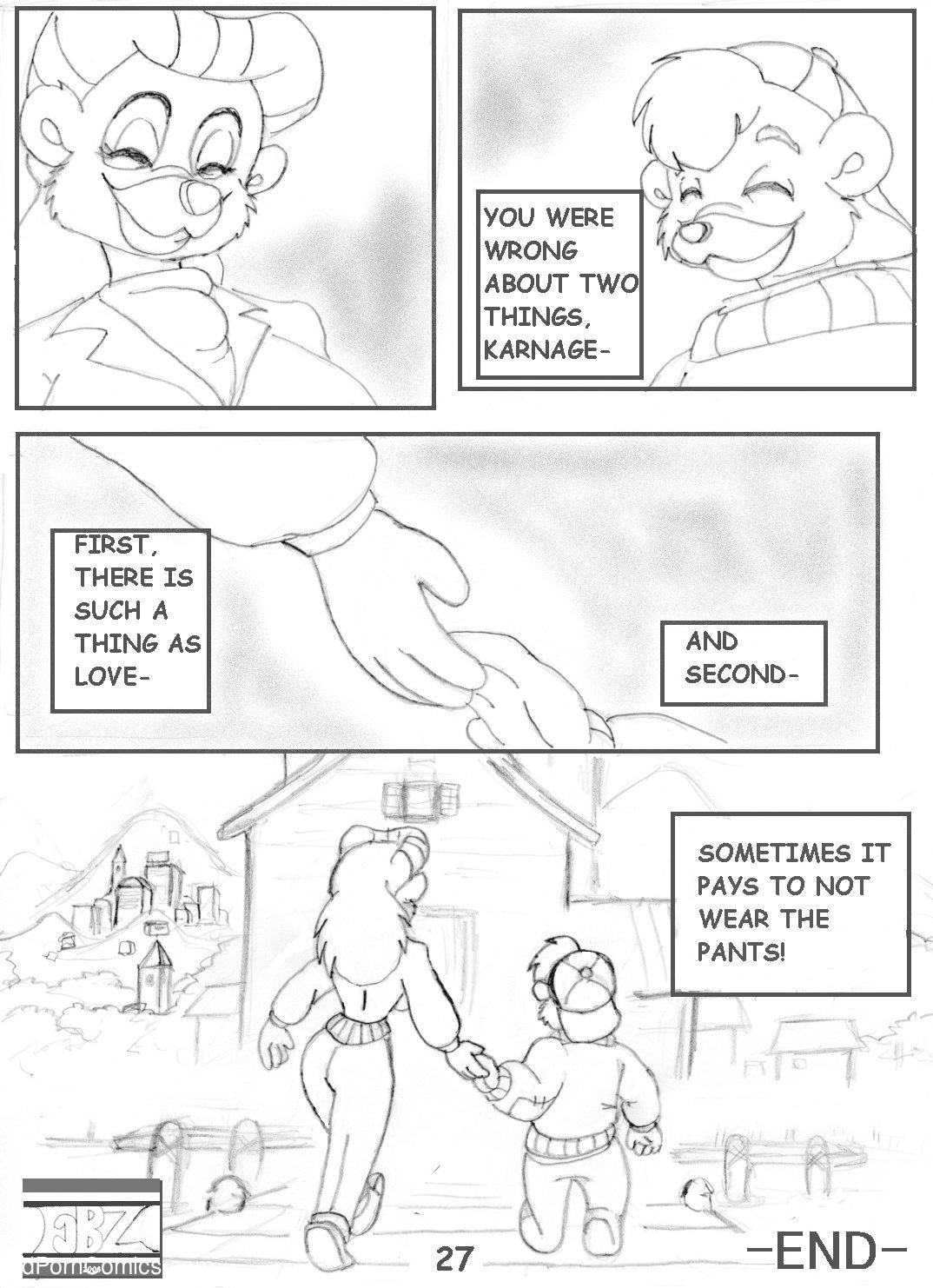 [FBZ] TaleSpin- Crash 1 free Porn Comic